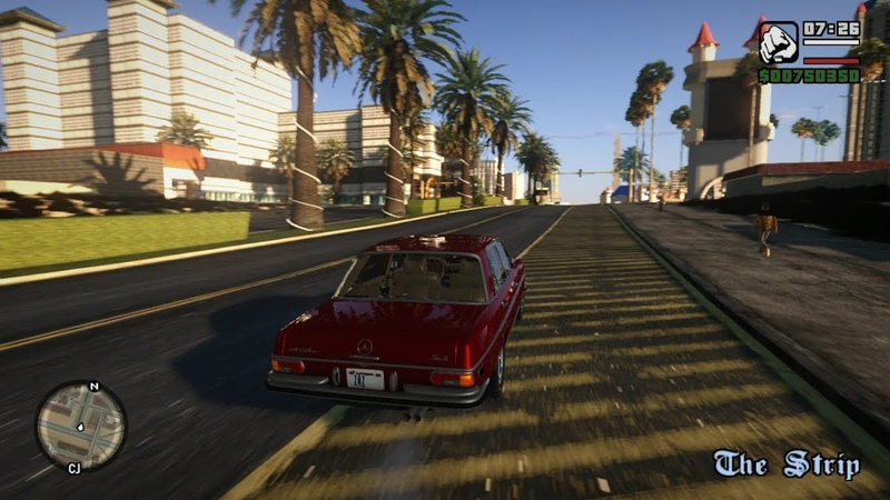 GTA SA - V Graphic Ultimate San Andreas Retexture (SAUR)
