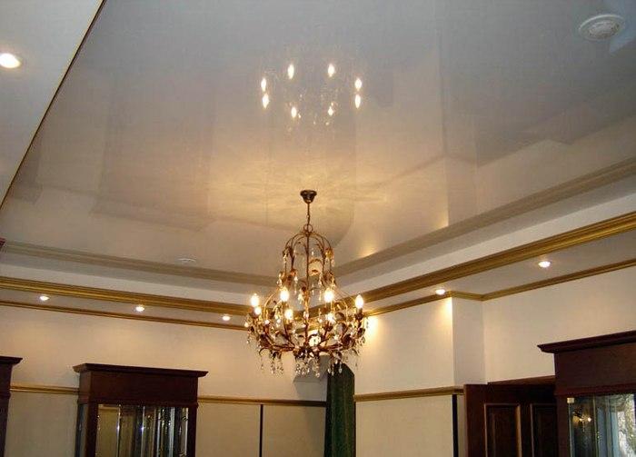 Виды отделки потолков
