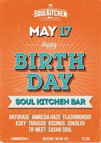 17.05 - HAPPY BIRTHDAY SOUL KITCHEN BAR