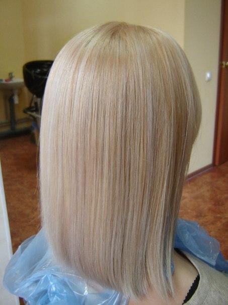 Фото окрашивание волос блонд