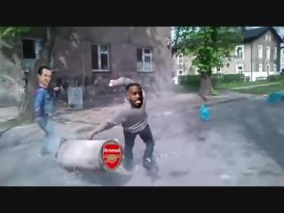 «Арсенал» в матче против «Ман Сити»