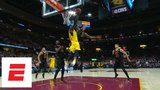 LeBron James makes vintage, possibly game-saving block on Victor Oladipo with seconds left ESPN
