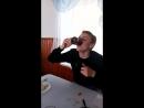 балдежное питье сразу двух кружак чая в сталовке в лагири
