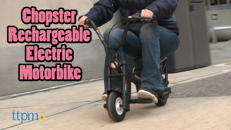 Chopster Rechargeable Electric Motorbike from Pulse Performance Product