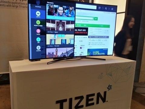 Samsung Electronics представили Корее прототип Tizen TV