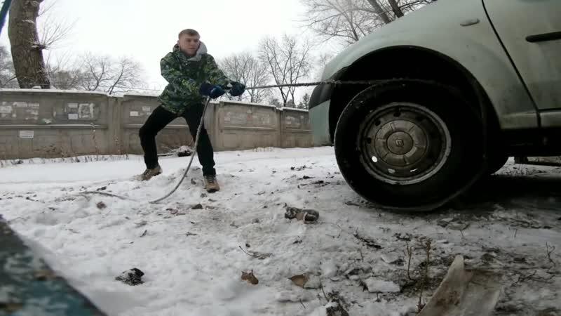 Заводим машину как бензопилу