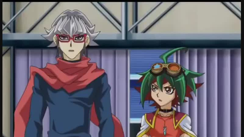 YuGiOh! Arc V Episode 143 - Yuya Enter The Dimension Gate and Meet Dennis