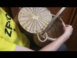 Плетёная сумка-корзина из ивы.mp4
