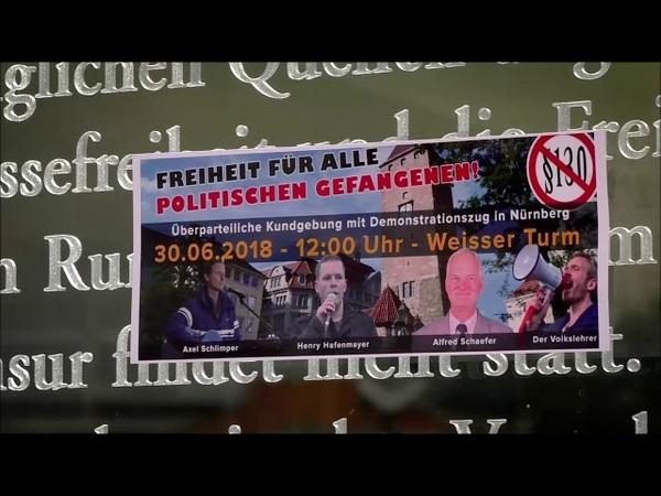 Kommt nach Nürnberg am 30.6. 12 Uhr! Für die Freilassung aller politischen Gefangenen!