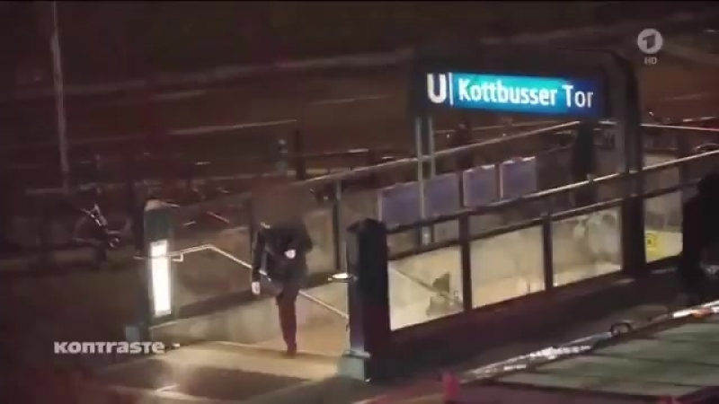 Alltag am Kottbusser Tor in Berlin. - Polizei lässt libyschen Dieb und Flaschenwerfer laufen. - Es herrscht Selbstjustiz.