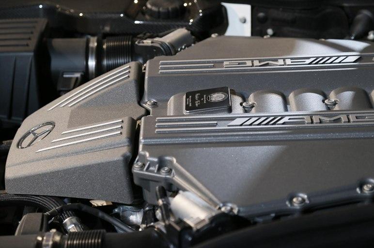 Мотор Mercedes SLS AMG 2013