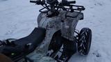 Оторвало колесо квадроциклу Apashe 150. Открыли зимний сезон.