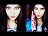 Alice Madness Returns Halloween Make-up Look 1 by Anastasiya Shpagina
