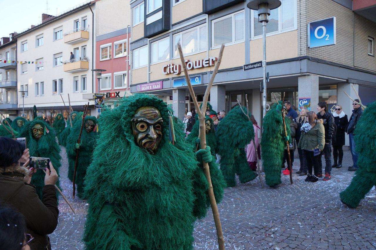 Фастнахт - старинная традиция проводов зимы в Германии