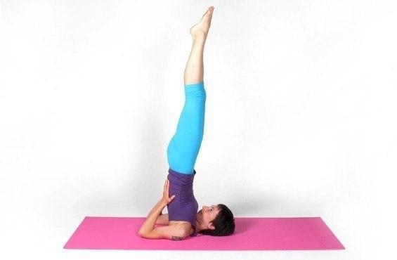 Йога против варикоза