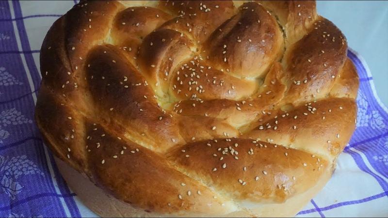 Пышный быстрый сдобный хлеб ПОГАЧА без расстойки/POGAČA