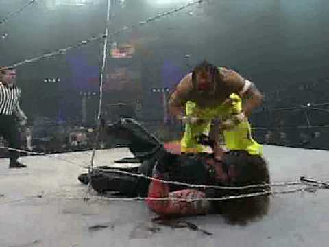 Turning Point 2005 Barbed Wire Massacre