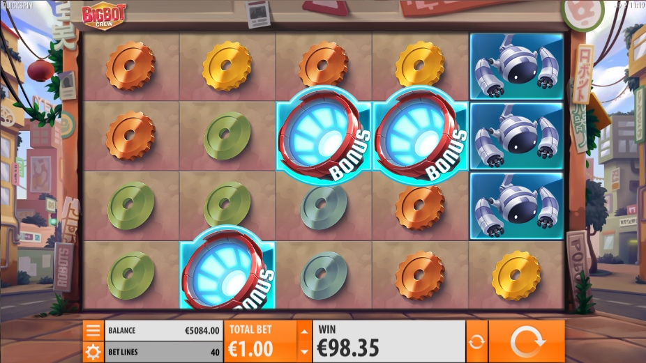 Вулкан: Игровые автоматы Bigbot Crew