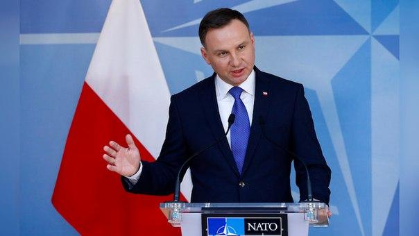 Президент Дуда попросил НАТО показать России характер