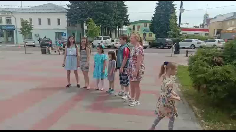 Вокальная студия Маленькая страна выступление на День защиты детей 2019 год