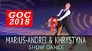 Marius-Andrei Balan Khrystyna Moshenska | Шоу 3 | 2018 Открытый Чемпионат Германии (GOC 2018)