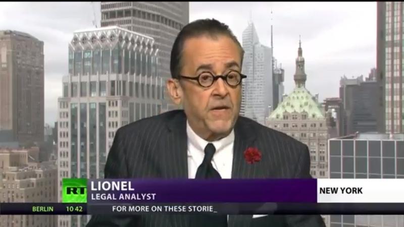 Lionel on RT's CrossTalk: Crisis Politics
