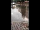 Затопленные улицы Декабристов и Бограда