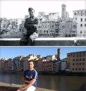 Сижу именно там, где мой дед сидел во времена Великой Отечественной Войны. 1944 против 2014.