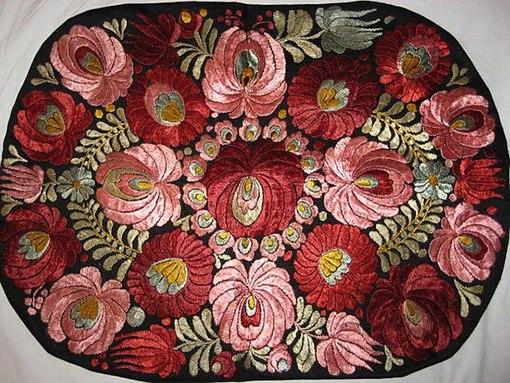 Венгерская вышивка матьо