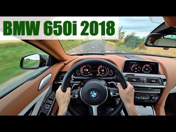 2018 BMW 650i Gran Coupé 4K POV TEST Nepotřebujete ho Chcete ho
