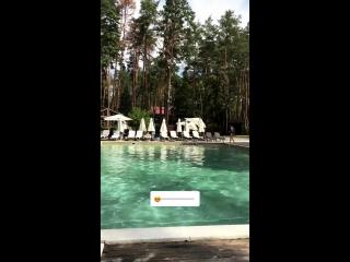 Бассейн, отдых relax