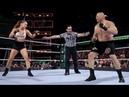 الملاكمة روندا روزي تدخل التاريخ وتفوز بحزام الـ WWE للسيدات بعد تدمير المصارعين و المصارعات