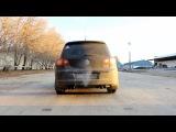 Custom Unlimited. VW Tiguan 2.0TSI custom exhaust on Borla muffler.