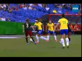 Byanca from Brazil does her trademark ball flip FIFA U-20 Womens World Cup 2014