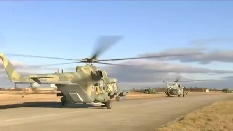 Russian Best Attack Helicopters MI-24, MI-28 _ KA-52 Helicopter Live Fire Training