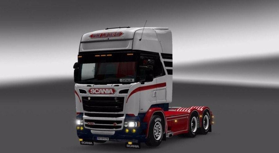Скин The Legend для Scania RJL