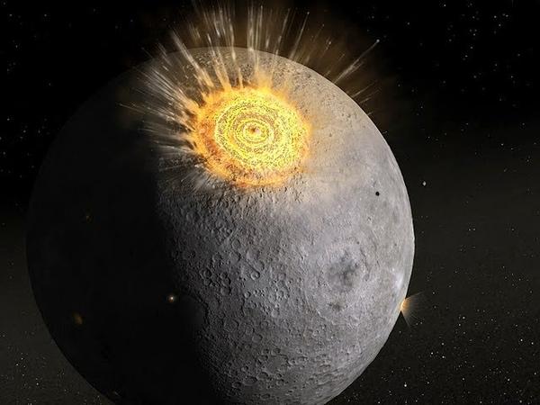 NASA зафиксировало мощнейший взрыв метеорита на Луне