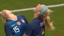 USWNT Funny Moment Offside