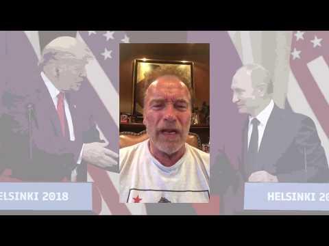 Арнольд Шварценеггер: Президент Трамп, вы выглядели, как маленькая мокрая лапша!
