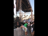 April 13: Fan taken video of Justin at the Coachella Valley Music and Arts Festival in Indio, California.
