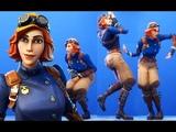NEW! AIRHEART SKIN SEASON 6 With DANCE EMOTES SHOWCASE! Fortnite Battle Royale