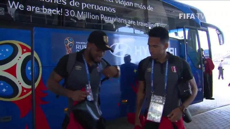 Раздевалка сборной Перу