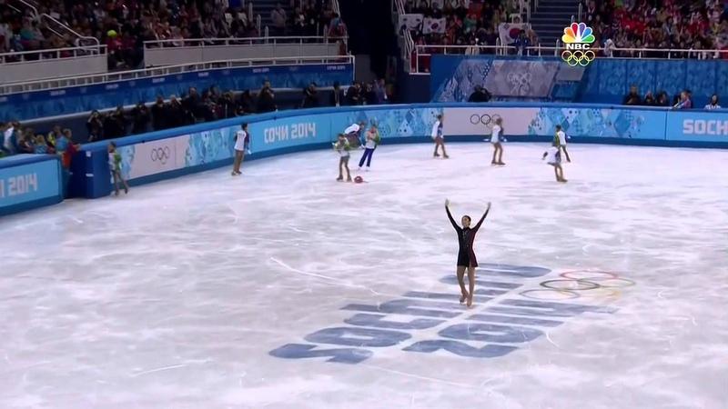 Yuna Kim - Adios nonino, 2014 Sochi Olympic FS (NBC ver.)