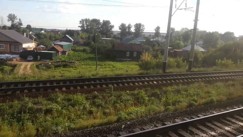 Отправление со станции Агрыз