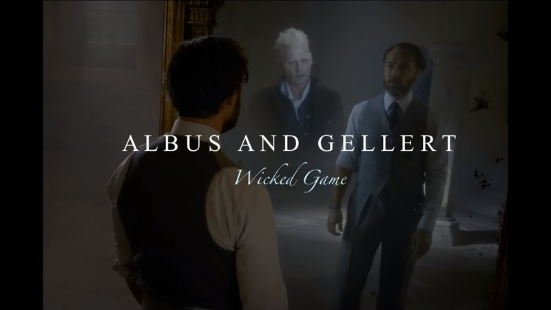 Albus and Gellert Wicked Game
