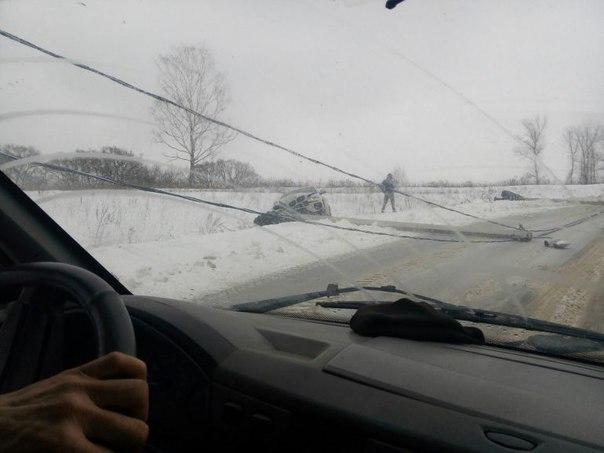 Смоленская полиция ищет набедокурившего водителя BMW