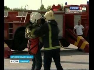 Под Архангельском  большие гонки открыли месячник безопасности