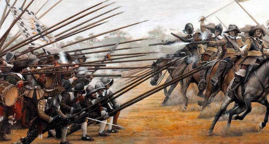 Пехота против кавалерии