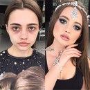 Кто сказал, что дымчатый макияж должен быть обязательно в чёрной или коричневой гамме?