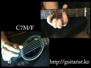 Би 2 и Чичерина - Мой рок-н-ролл (Уроки игры на гитаре Guitarist.kz)